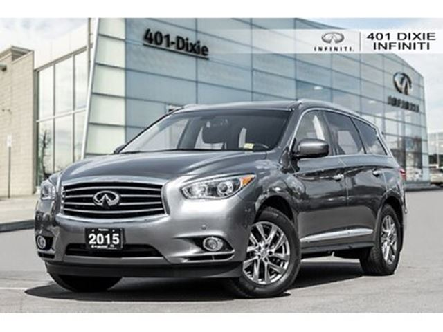 2015 INFINITI QX60 [LOW KMS!] [Premium Package] [360 Cam] [Navi] in Mississauga, Ontario