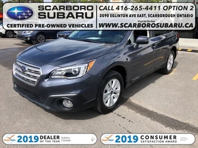 2016 Subaru Outback 5dr Wgn Man 2.5i w-Touring Pkg, FROM 1.99% FINANC in