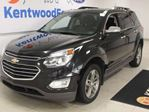 2016 Chevrolet Equinox LTZ AWD with sunroof, heated power leather seats and power liftgate in Edmonton, Alberta