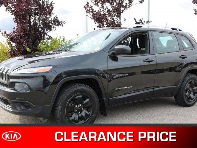 2014 JEEP Cherokee 4WD SPORT Accident Free, Heated Seats, Back-up Cam, Bluetooth, A/C, - Used Jeep Dealer in Sherwood Park, Alberta
