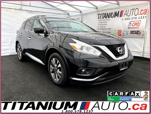 2017 NISSAN Murano SV+AWD+GPS+360 Camera+Blind Spot+Pano Roof+Apple P in London, Ontario