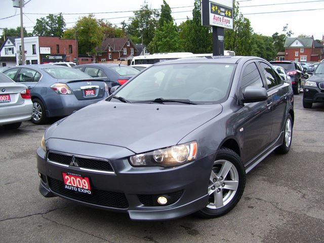 2009 MITSUBISHI LANCER SE,SPORT,CERTIFED,NO ACCIDENT,SPOILER,ALLOYS,FO in Kitchener, Ontario