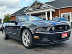 2014 Ford Mustang GT Convertible, Leather Heated Seats, Bluetooth, Back Up Camera, Satellite Radio in Paris, Ontario