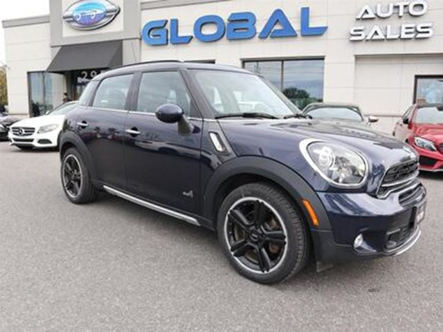 2015 MINI COOPER S ALL4 LEATHER PANO. ROOF in Ottawa, Ontario
