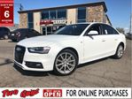 2016 Audi A4 Navigation Leather Moonroof Back Up Camera in St Catharines, Ontario