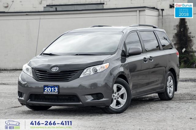 2013 Toyota Sienna *TINT *SPOILER* SERVICED CERTIFIED CLEAN FINANCING in Toronto, Ontario