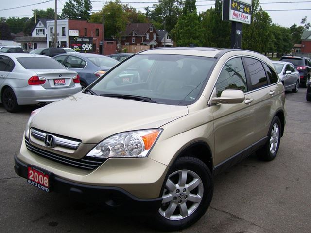 2008 HONDA CR-V EX-L,AWD,SUNROOF,TINTED,LEATHER,ALLOYS,CERTIFIED in Kitchener, Ontario