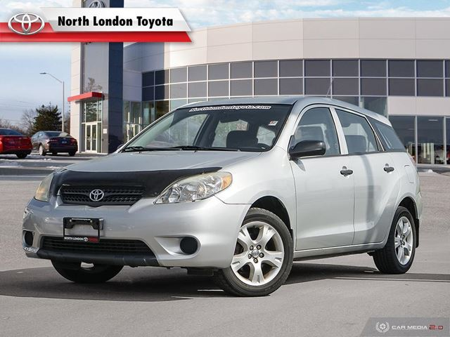 2006 TOYOTA Matrix AS-IS, One Owner, No Accidents, Toyota Serviced in London, Ontario
