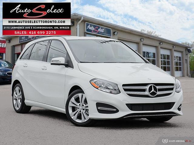 2016 MERCEDES-BENZ B-Class 4Matic B250 AWD ONLY 79K! **CLEAN CARPROOF** 4MATIC in Scarborough, Ontario