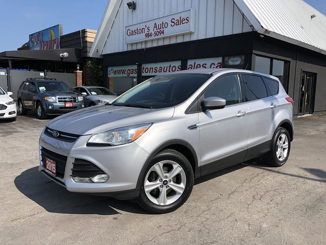 2015 FORD Escape BACKUP CAM! NEW BRAKES AND TIRES! in St Catharines, Ontario