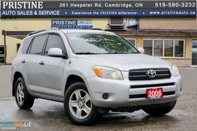 2006 TOYOTA RAV4 4WD Only 163km Rust Free 1 Owner Remote Starter in Cambridge, Ontario