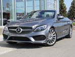 2018 Mercedes-Benz C-Class C 300 2dr AWD 4MATIC Cabriolet in Kamloops, British Columbia