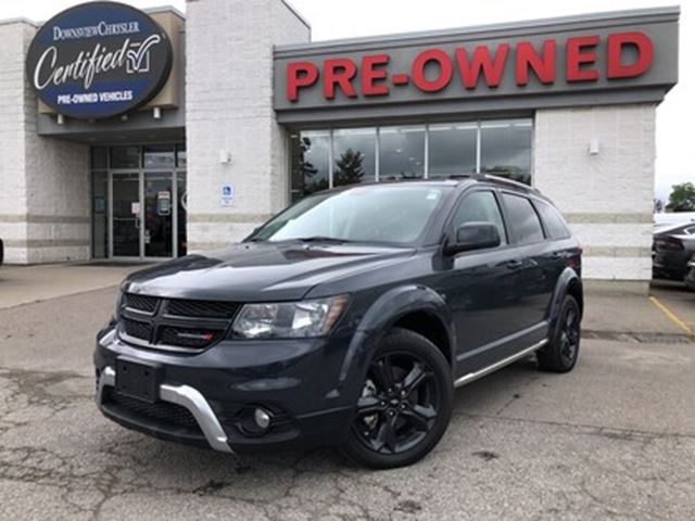 2018 DODGE Journey Crossroad..$99 weekly+hst..$0 down..96m..5.9% in Toronto, Ontario