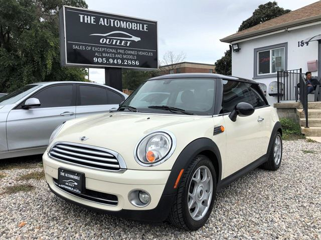 2008 MINI COOPER LOW KMS LEATHER PANO SUNROOF BLUETOOTH NO ACCID in Mississauga, Ontario