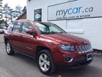 2017 Jeep Compass Sport/North LEATHER, POWER SUNROOF, HEATED SEATS!! in North Bay, Ontario