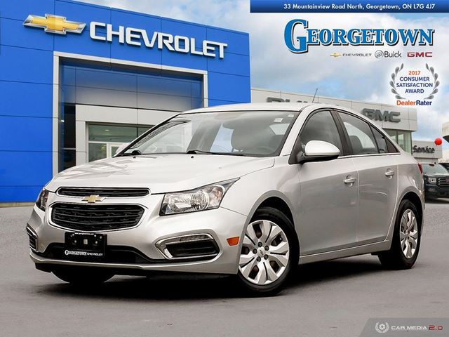 2015 Chevrolet Cruze 1LT LT|AUTO|REARVIEW CAMERA|REMOTE START|BLUETOOTH in