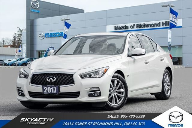 2017 Infiniti Q50 3.0T Leather|Navigation|Bluetooth in