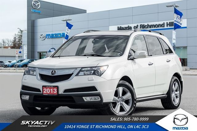 2013 Acura MDX Technology Package Leather|Navigaton|Bluetooth in