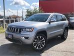2017 Jeep Grand Cherokee LIMITED**LEATHER**SUNROOF**BLIND SPOT MONITORING** in Mississauga, Ontario