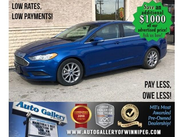 2017 FORD FUSION SE *Bluetooth/Back.Cam in Winnipeg, Manitoba