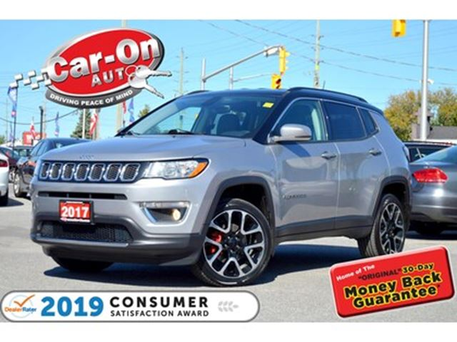2017 JEEP COMPASS Limited 4X4 LEATHER REAR CAM NAV READY 30, 000 KM in Ottawa, Ontario