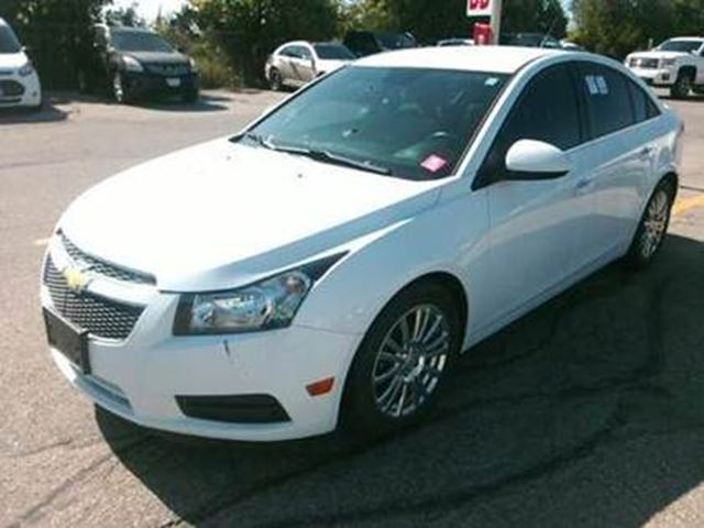 2014 CHEVROLET CRUZE 2014 Chevrolet Cruze Eco Bluetooth No Reported Acc in Milton, Ontario
