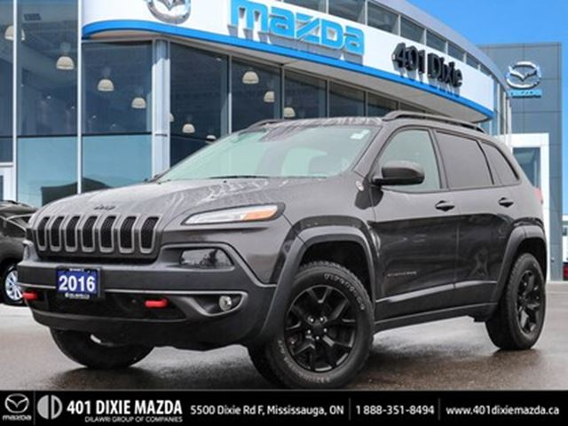 2016 JEEP Cherokee Jeep NO ACCIDENTS ONE OWNER FINANCING AVAILABLE in Mississauga, Ontario