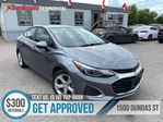 2019 Chevrolet Cruze Premier   1OWNER   CAM   HEATED SEATS   LEATHER in London, Ontario