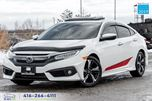 2016 Honda Civic Touring Nav Warranty Certified Serviced We Finance in Toronto, Ontario