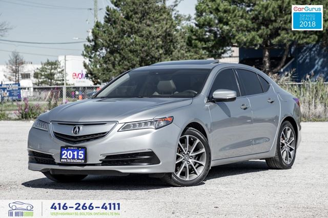 2015 ACURA TLX V6*SH*AWD*TECH*NAVI* GPS Mint Certified We Finance in Toronto, Ontario