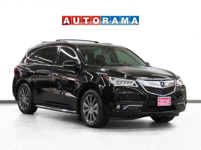 2016 ACURA MDX 4WD Elite Pkg Navigation Leather Sunroof Bcam 7Pas in North York, Ontario
