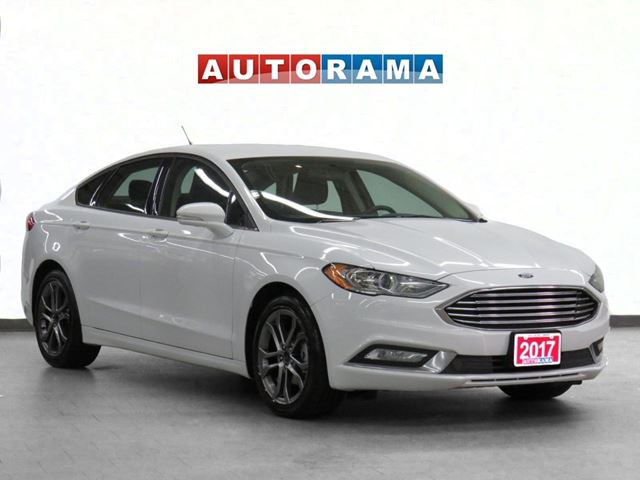 2017 FORD Fusion SE Leather Sunroof Backup Cam in North York, Ontario