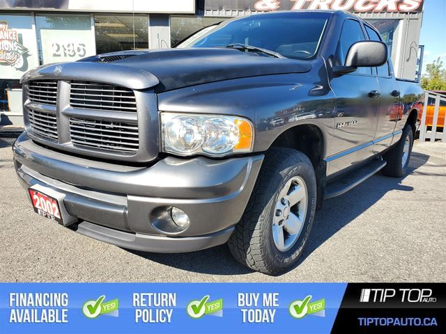 2002 Dodge RAM 1500 ST ** Low Km's, 1 Owner, Clean CarFax ** in