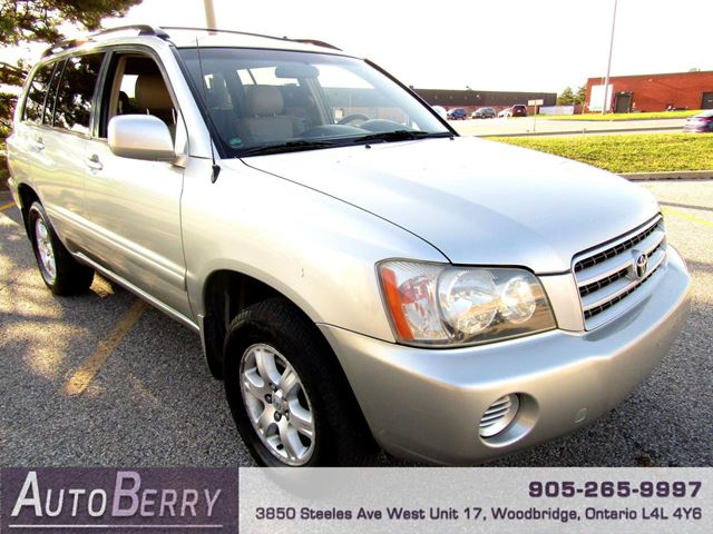 2003 Toyota Highlander Limited - 4WD - 3.0L in