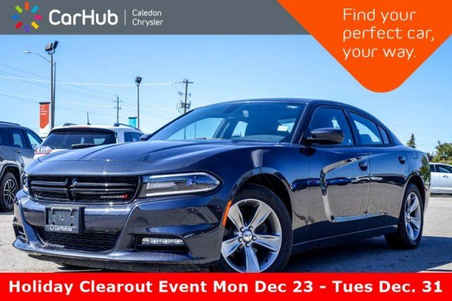 2018 DODGE Charger SXT Plus Sunroof Backup Cam Bluetooth Heated Front Seats R-Start 18Alloy Rims in Bolton, Ontario