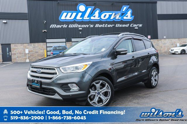 2017 FORD ESCAPE Titanium-4WD, Leather, Navigation, Panoramic Sunroof, Rear Camera, Bluetooth, Alloys and more! in Guelph, Ontario
