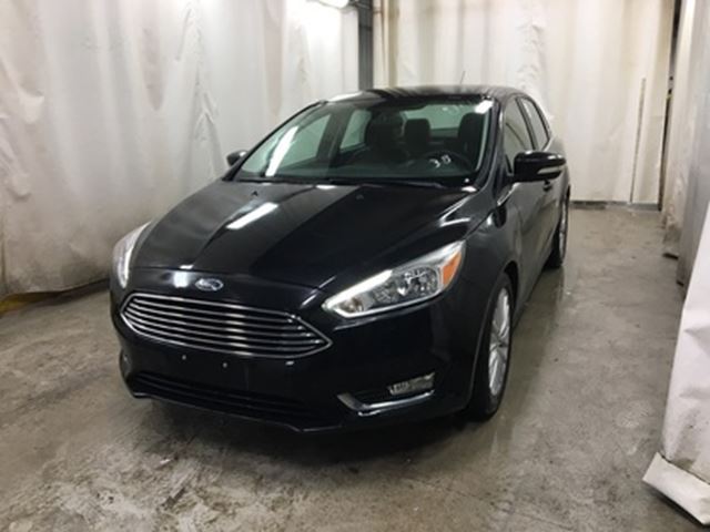 2015 FORD FOCUS Titanium *B.tooth/Back.Cam/Lthr in Winnipeg, Manitoba