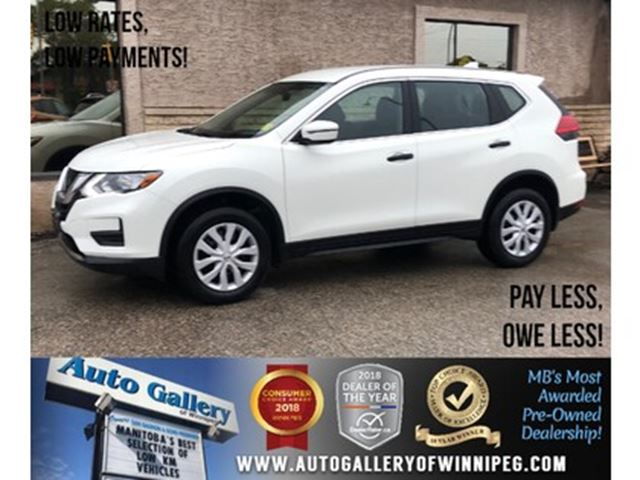 2017 Nissan Rogue S *AWD/B.tooth/Back.Cam/Htd Seats in