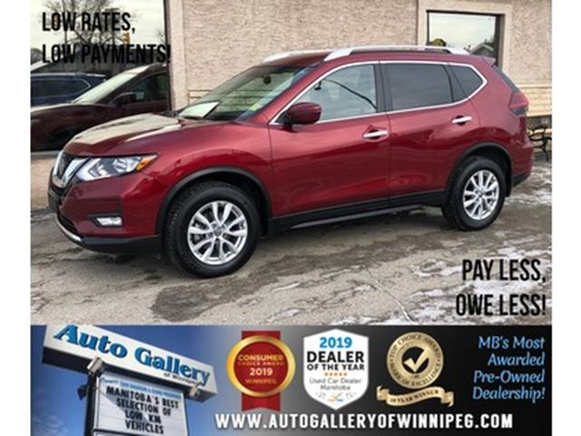2018 Nissan Rogue SV *AWD/Navi/B.tooth/Back.Cam/Htd Seats in