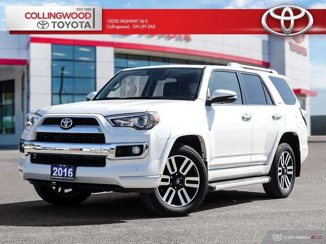 2016 TOYOTA 4Runner LIMITED 5 PASSENGER LEATHER AND REMOTE START in Collingwood, Ontario