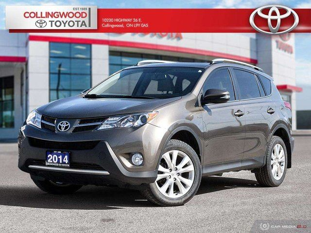 2014 TOYOTA RAV4 LIMITED AWD HEATED SEATS AND NAVIGATION in Collingwood, Ontario