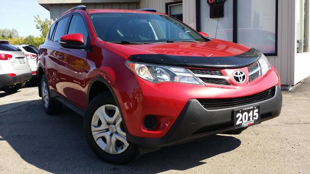 2015 Toyota RAV4 LE AWD - BACK-UP CAMERA! HEATED SEATS! ACCIDENT in