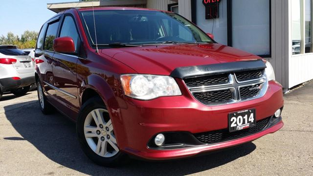 2014 Dodge Grand Caravan Crew - BACK-UP CAM! STOW N GO! ACCIDENT FREE! in
