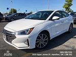 2019 Hyundai Elantra Luxury leather , sunroof, back up camera in Hamilton, Ontario