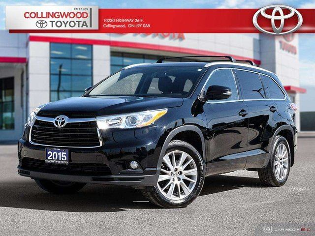 2015 TOYOTA Highlander XLE AWD LEATHER NAVIGATION SOLD AND SERVICED HERE in Collingwood, Ontario
