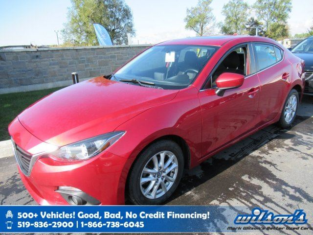 2014 MAZDA MAZDA3 GS-SKY - Manual, Sunroof, Bluetooth, Cruise Control, Alloys, Power Package and more! in Guelph, Ontario