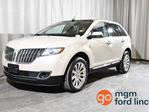2014 Lincoln MKX AWD | SIGHT + SOUND PACKAGE | BLIND SPOT MONITORING | ADAPTIVE CRUISE | NAVIGATION | HEATED + COOLED FRONT SEATS | HEATED BACK SEATS | BACKUP CAMERA in Red Deer, Alberta