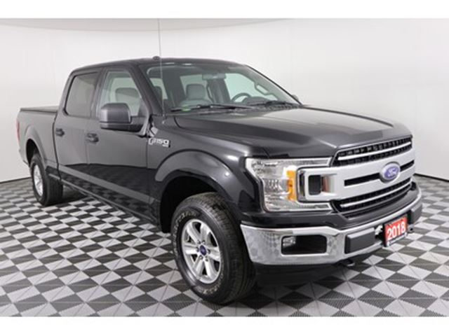 2018 FORD F-150 XL, SUPERCAB, 5.0L V8, 10 SPEED AUTO, 4X4, BACK-UP in Huntsville, Ontario
