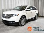 2013 Lincoln MKX AWD | BLIND SPOT MONITORING SYSTEM | PANORAMIC VISTA ROOF | NAVIGATION | HEATED + COOLED FRONT SEATS | HEATED BACK SEATS | BACKUP CAMERA in Red Deer, Alberta