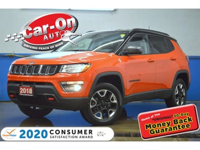 2018 JEEP COMPASS TRAILHAWK LEATHER NAVIGATION REARVIEW CAM 4X4 in Ottawa, Ontario